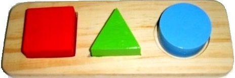 Blocos Geométricos de encaixe