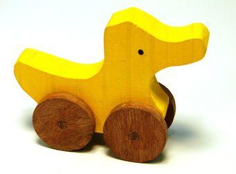 Pato com rodas