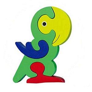 Quebra cabeça papagaio