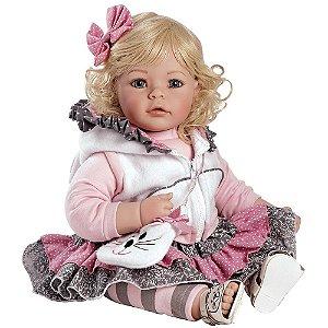 Boneca Bebe Reborn Adora Doll Cats Meow