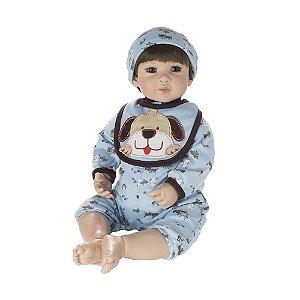 Boneca Bebe Reborn Laura Doll Blue Petzz