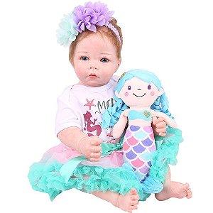 Boneca Bebe Reborn Laura Baby Iara