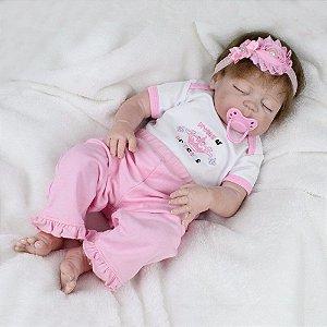 Boneca Bebe Reborn Laura Baby Ayla