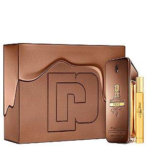 Conjunto 1 Million Privé Paco Rabanne Masculino - Eau de Parfum 100ml + Travel Size 10ml