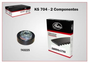 KIT DISTR LOGAN-SANDERO 1.6 8V 11/