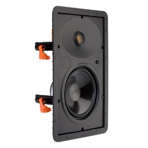 Caixa Acústica Embutir Monitor Audio SCW165 Branca Retangular