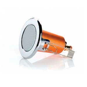 Caixa Acústica Embutir Monitor Audio SCPC120C Cromada Redonda