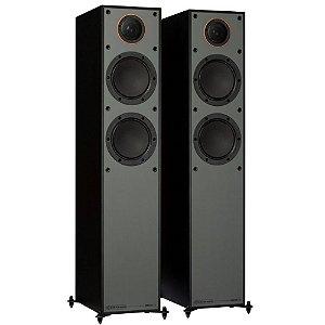 Caixa acústica Torre Monitor Audio Silver 200 SS200BG Preto Laqueado