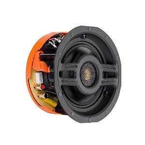 Caixa Acústica Embutir Monitor Audio SCS140R Branca Redonda