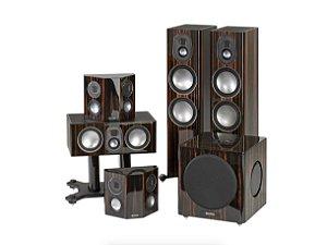 Sistema de Som GOLD 5.1 - Monitor Áudio