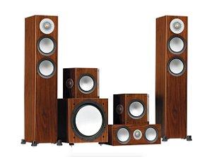Sistema de Som Silver 200 - Monitor Áudio