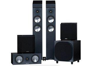 Sistema de Som BRONZE 200 AV 5.1.2  - Monitor Áudio