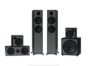 Sistema de Som Monitor200 AV - Monitor Áudio