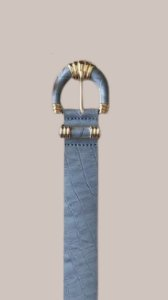 Cinto Feminino Croco Isadora - Cinza