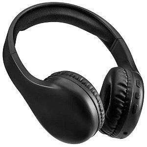 Headphone Fone De Ouvido com Bluetooth Multilaser Joy Preto P2