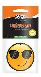 Emoji Perfumado Para Pendurar No Retrovisor Dentro Do Carro Sache Autocare Pra Carro Style Multilaser cheirindo de carro AU435