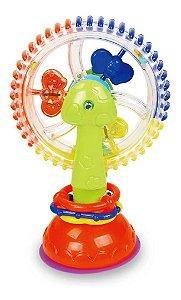 Roda Roda Atividades Com Ventosa Infantil Brinquedo divertido Multikids