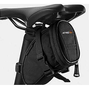 Bolsa De Selim para Bicicleta Capacidade de 1L Preto Atrio