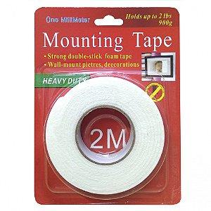 FITA DUPLA FACE 2 METROS Mounting Tape De Boa Qualidade Nova