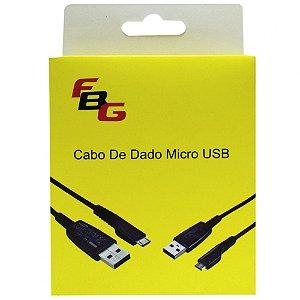 CABO USB X V8 FBG Preto de alta Qualidade Resistente Barato