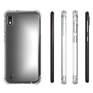 Capinha de TPU AntiShock Transparente - Samsung Galaxy A10