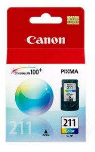 CARTUCHO DE TINTA CANON CL-211 CL211 COLOR 2976B017AA | ORIGINAL 9ML