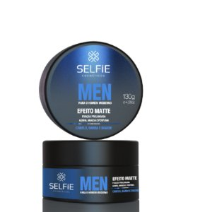 Pomada Selfie Efeito Matte MEN 130g
