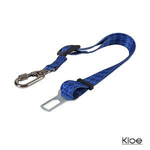 Cinto de Segurança para Carro Azul Kloe