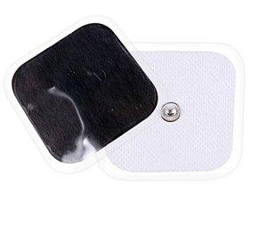 KIT 5 PARES -   ELETRODO AUTOADESIVO de 4x4cm s/ Patches - 5 Pares (10)