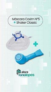 KIT - Máscara Coxim nº5 + Shaker Classic