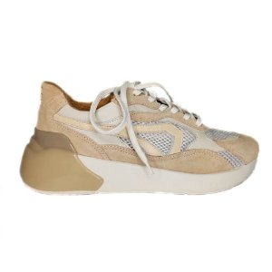 Tênis Sneaker Nude Couro Smidt