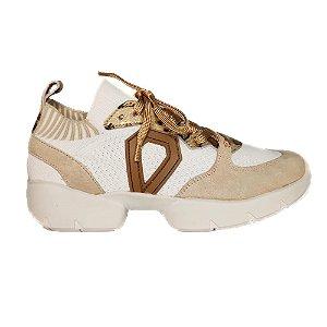 Tênis Sneaker Branco Onça