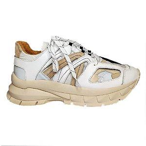Tênis Sneaker Branco Bulgari Smidt