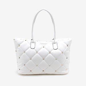 Bolsa Shopper Soft Matelasse Branca