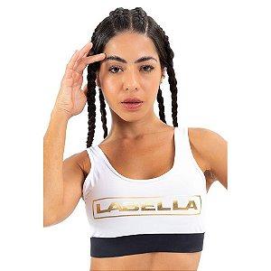 Top Black and Gold Branco Labellamafia 23527