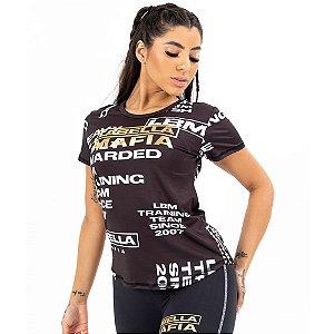 Camiseta Black and Gold Preto Labellamafia 23531
