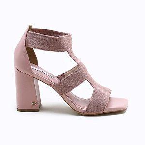 Sandalia Rose Knit Cristal 4117094