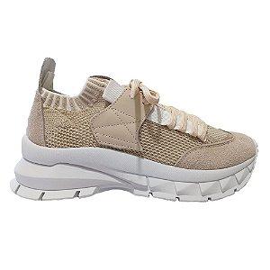 Tênis Sneaker Fully Shape Off White/Bege Smidt