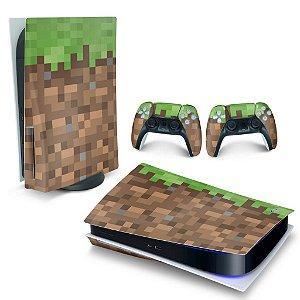 Skin PS5 - Minecraft