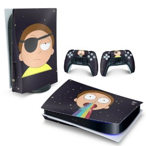 Skin PS5 - Morty Rick And Morty