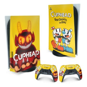 PS5 Skin - Cuphead