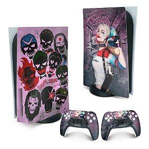 PS5 Skin - Arlequina Harley Quinn