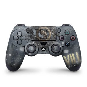 Skin PS4 Controle - Resident Evil Village