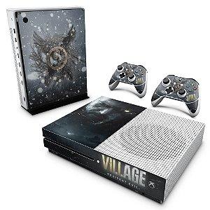 Xbox One Slim Skin - Resident Evil Village