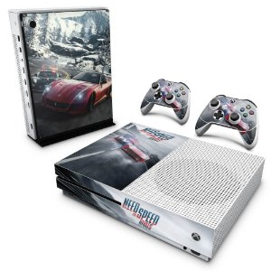 Xbox One Slim Skin - Need for Speed Rivals