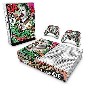 Xbox One Slim Skin - Esquadrão Suicida #B