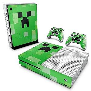 Xbox One Slim Skin - Creeper Minecraft