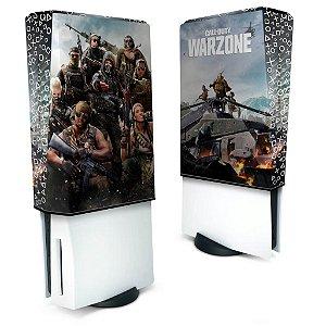 Capa PS5 Anti Poeira - Call of Duty Warzone