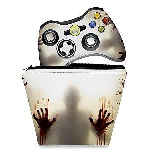 KIT Capa Case e Skin Xbox 360 Controle - Guardioes Da Galaxia 2