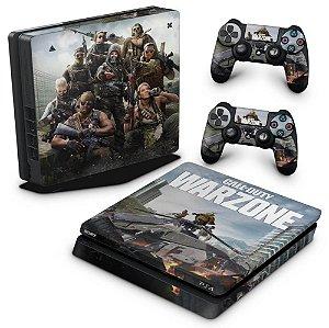 PS4 Slim Skin - Call of Duty Warzone
